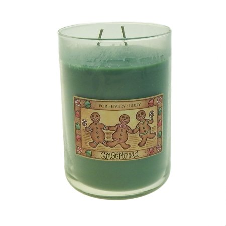Empire Candle (Langley Empire 2 Wick Gingerbread Scented Jar Candle 20 Oz )