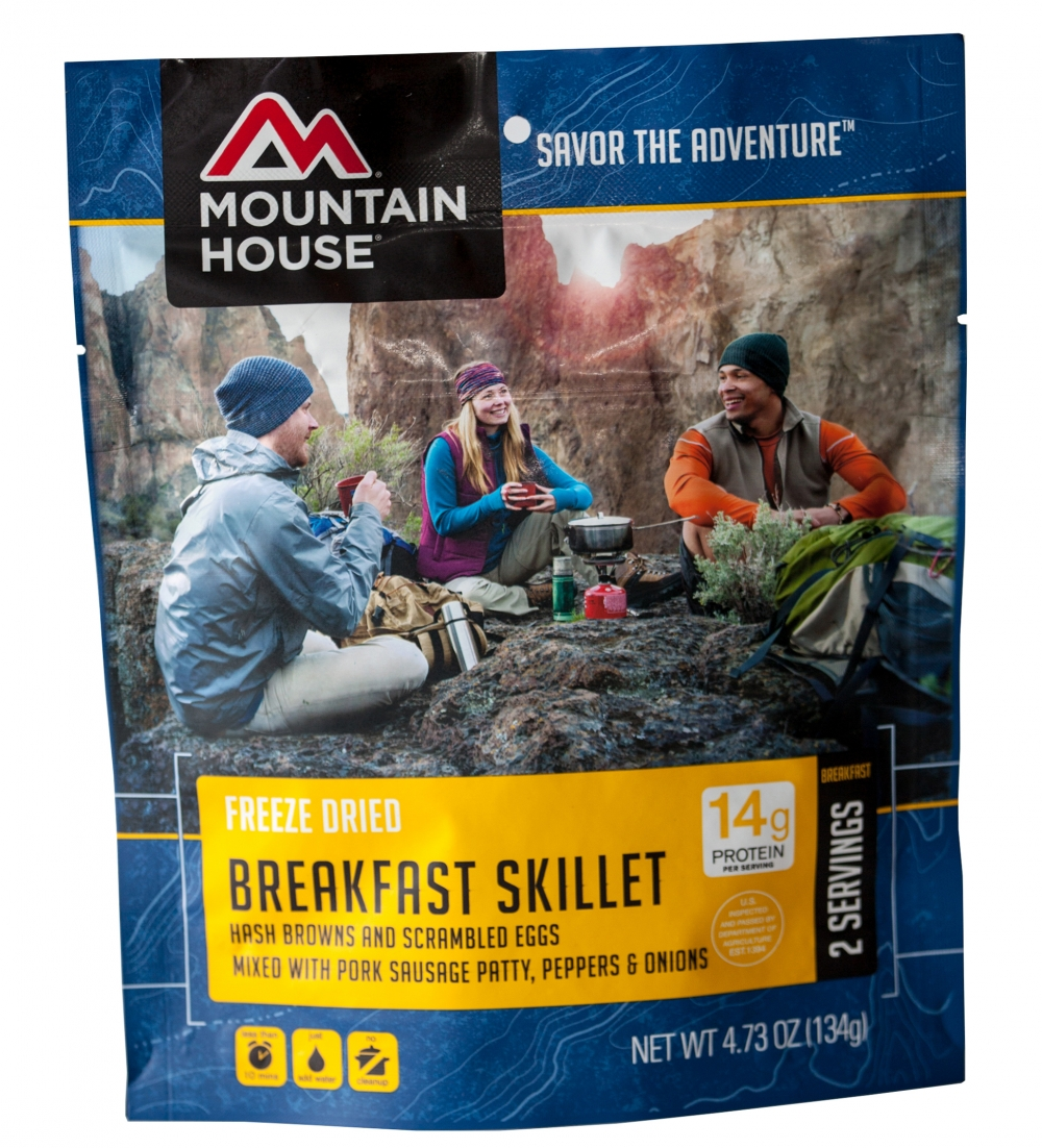Mountain House (6 Pack) Breakfast Skillet Breakfast Pouch by Mountain House
