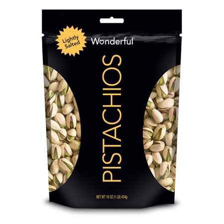 Wonderful Pistachios Lightly Salted Pistachios, 16 Oz.
