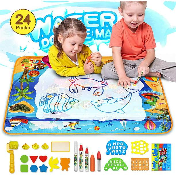 Aqua Magic Mat, Kids Painting Writing Doodle Board Toy ...