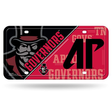 Austin Peay State Governors NCAA 12x6 Auto Metal License Plate Tag CAR TRUCK