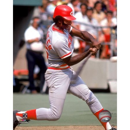 George Foster batting 1980 Photo (Foster Photograph)