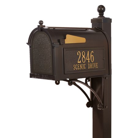 Personalized Deluxe Capitol Mailbox Package ()