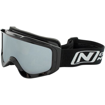 Optic Nerve Goggles - Optic Nerve Crescent Moon Snow Goggle: Shiny Black