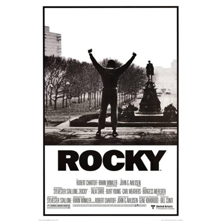 Rocky - Movie Score Arms Up Poster -