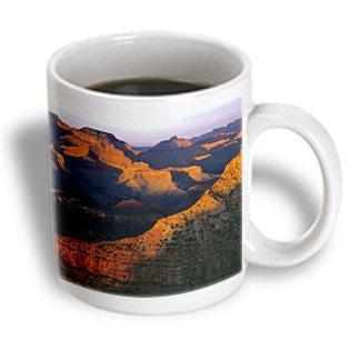 3dRose Arizona, Grand Canyon NP, Mesas at sunset - US03 RER0009 - Ric Ergenbright, Ceramic Mug, 11-ounce