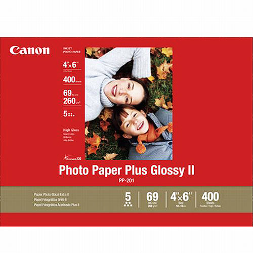 "Canon 400-sheet 4"" x 6"" Photo Paper"