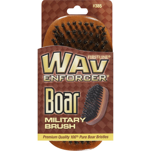 WavEnforcer Boar Military Hair Brush
