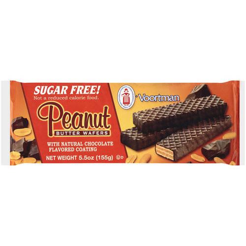 Voortman Peanut Butter Wafer Cookies, 5.5 oz