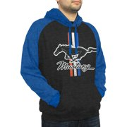 Mustang Men's Raglan Hooded Pullover
