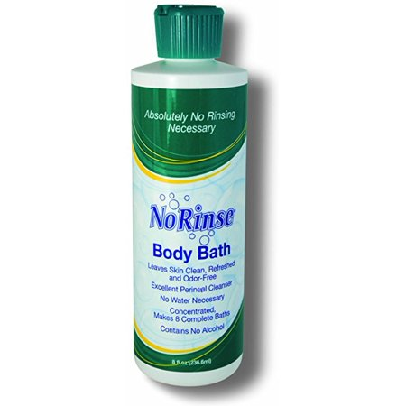 Bad Body Odor (No-Rinse Body Bath with Odor Eliminator - 16 oz. (Pack of 2))