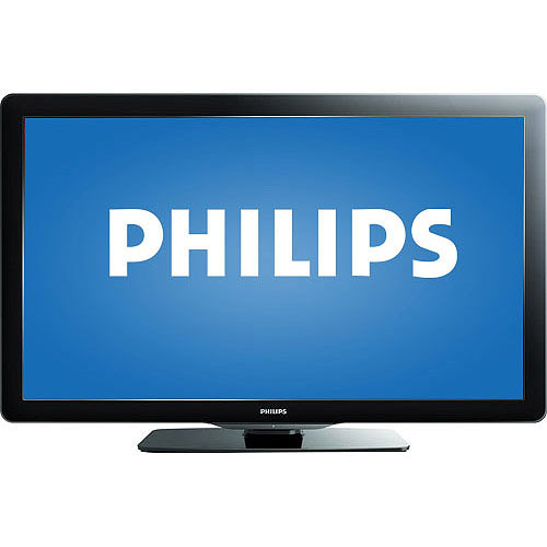 """Philips 40"""" Class LCD 1080p 60Hz HDTV, 40PFL3706/F7B"""