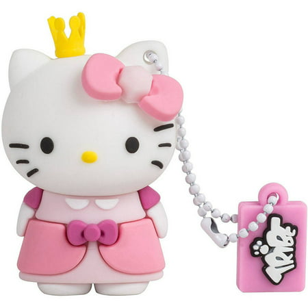 Tribe Hello Kitty Princess 8GB USB Flash Drive 2.1 Gb Disk Drive