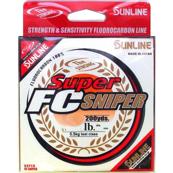 Sunline Super Fluorocarbon Fishing Line Pick Any Pound Test 200 Yard Spool