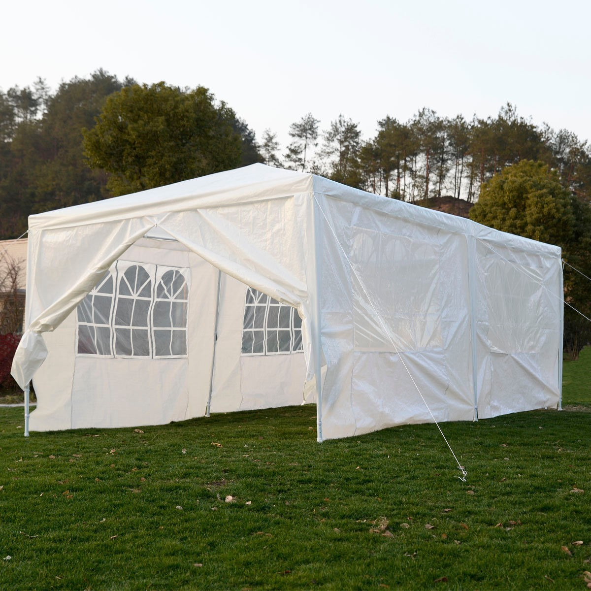 Outdoor 10'x20' Canopy Party Wedding Tent Heavy duty Gazebo Cater Events