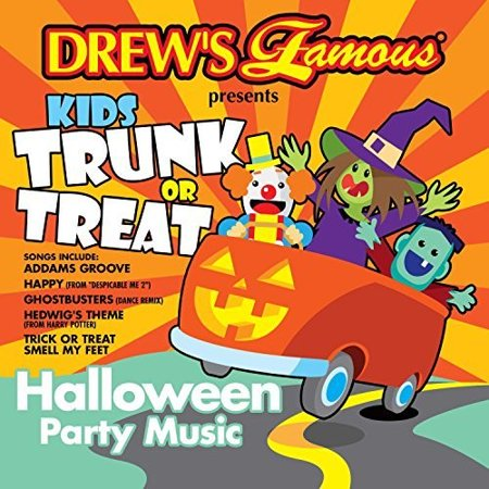 Kids Trunk Or Treat Halloween Party Music (Various Artists) (CD) - Halloween Music Collection Cd