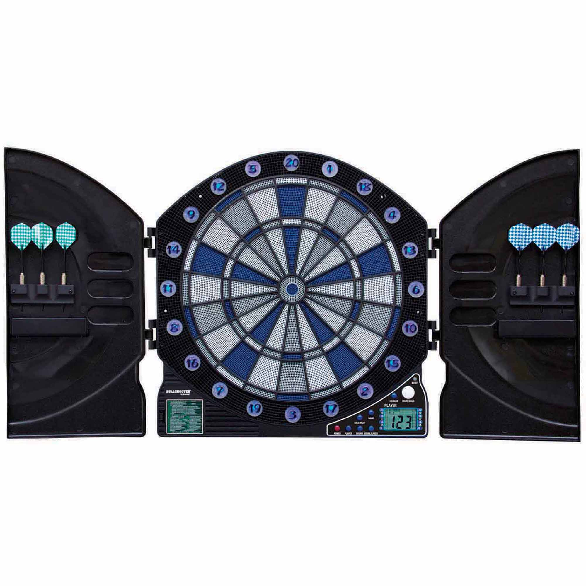 Bullshooter Illuminator 3.0 Electronic Dart Board by Escalade