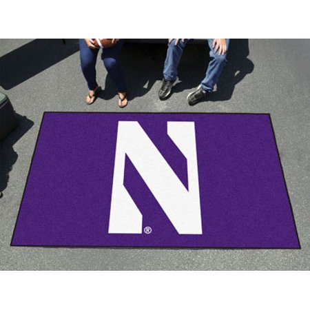 "Image of ""Fanmats Ncaa College Sports Team Athletic Outdoor Tailgating Party Nylon Area Rug Rug Northwestern Floor Ulti-Mat 60""""x96"""""""