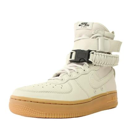 b183ae7dd6af Nike - NIKE WOMENS SF AF1 AIR FORCE 1 HIGH SZ 9.5 LIGHT BONE SPECIAL FIELD  857872 004 - Walmart.com