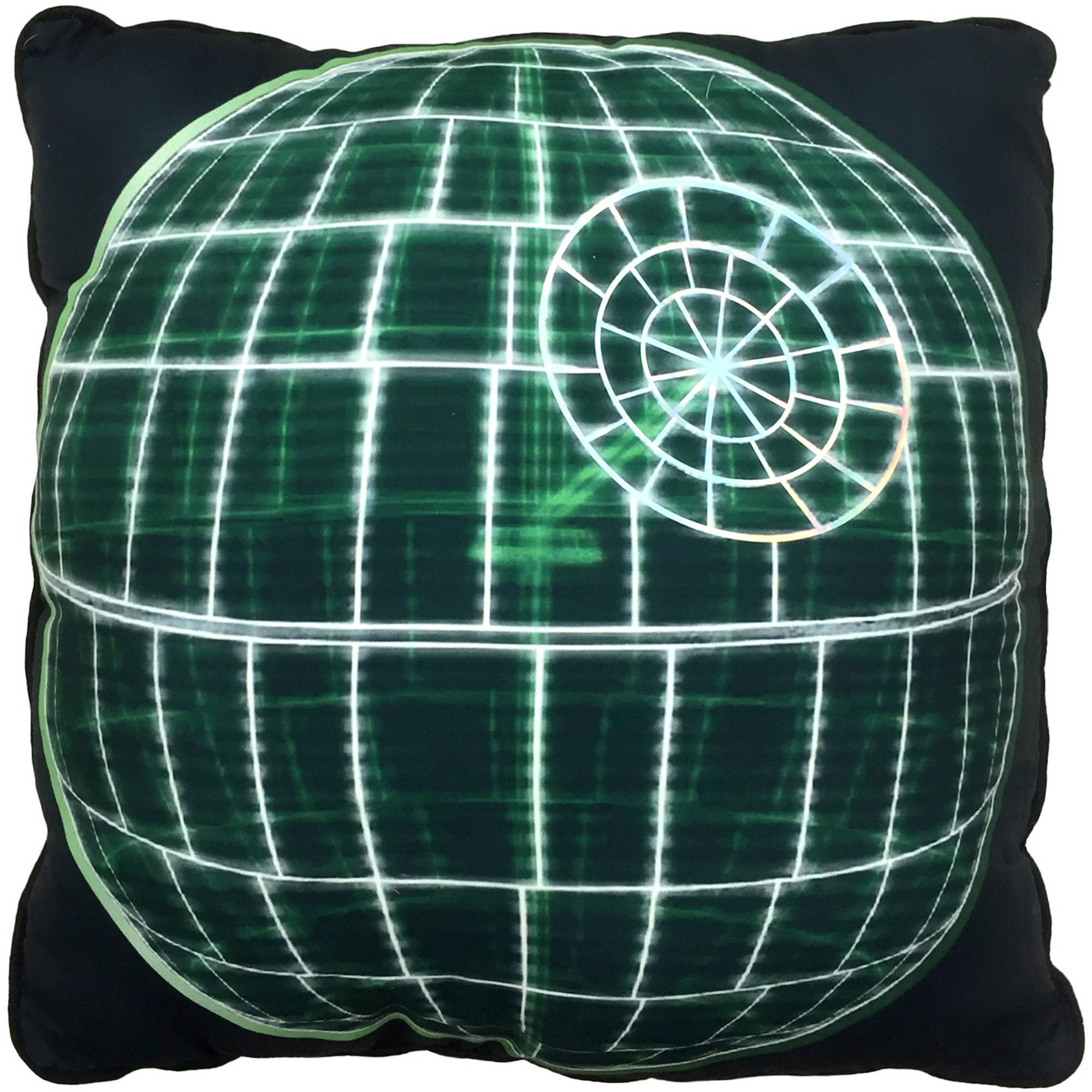 Star Wars Rogue One Death Star Scan Decorative Pillow
