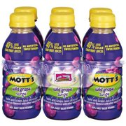 Mott's Wild Grape Surge, 8 Fl. Oz., 6 Count
