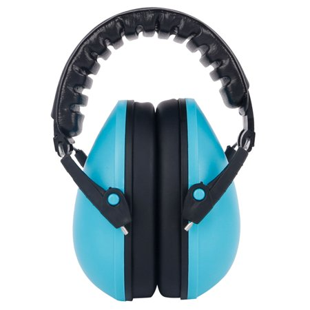 Baby Hearing Protection Earmuff Noise Cancelling Ear Muffs for Sleep Play  Study(Style A Sky-blue)