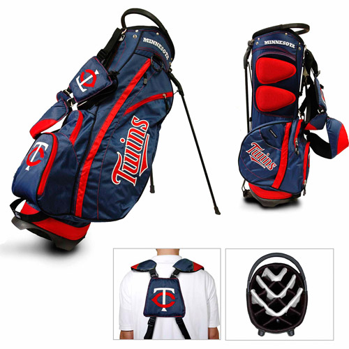 Team Golf MLB Minnesota Twins Fairway Golf Stand Bag