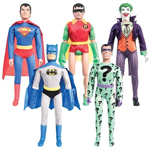 18 Inch Retro DC Comics Action Figures Series 1: Complete...