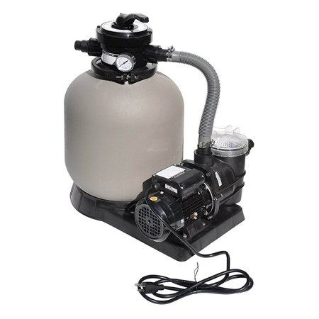 Swimline 2400 GPH 14-Inch .5 HP High-Quality Pool Sand Filter Pump Combo |