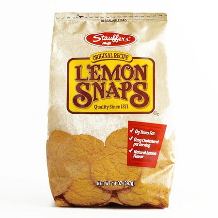 Stauffer's Lemon Snaps 14 oz each (1 Item Per Order, not per case) - Order Halloween Cookies