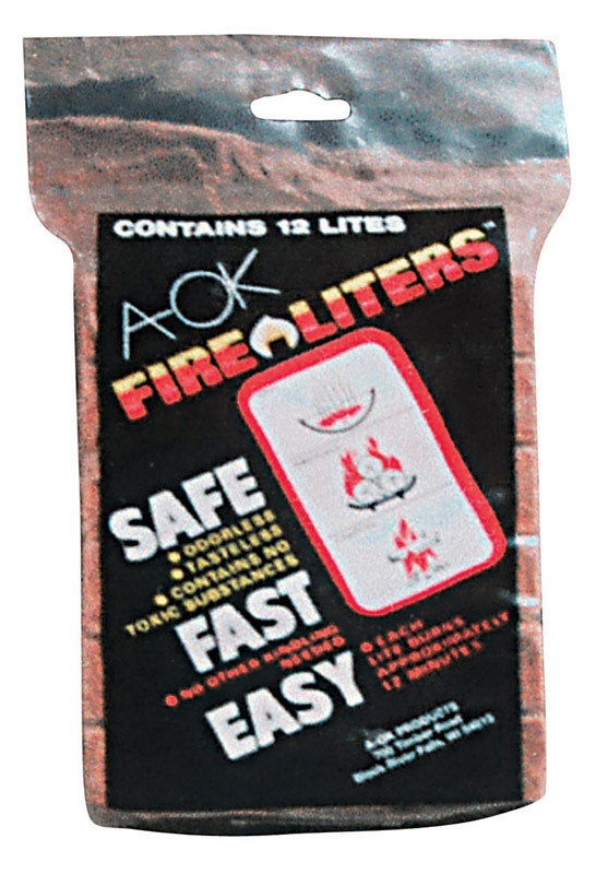 Fire Liters Fire Starter Cubes by Fire Liters Inc.