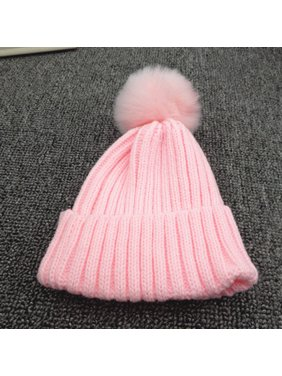 74f0ea132c9 Product Image Outtop Kids Toddler Children Warm Knit Beanie Hat Boys Girls  Fur Pom Bobble Crochet Cap