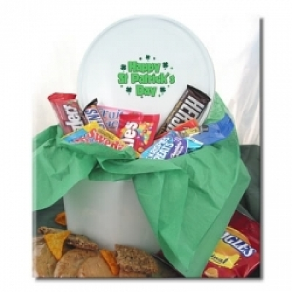 St Patricks Day Tin Of Goodies 6 Gourmet Cookies by
