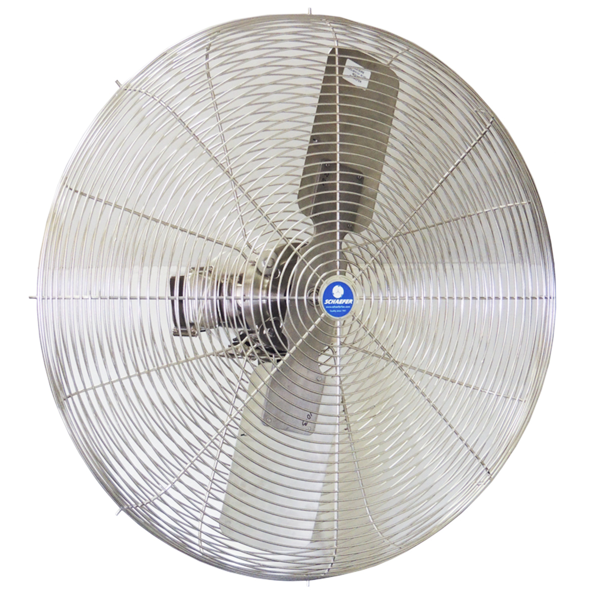 Schaefer 30CFO-SWDS-3-HV 60 Volt 3 4 HP High Velocity 30-Inch Washdown Duty Fan by
