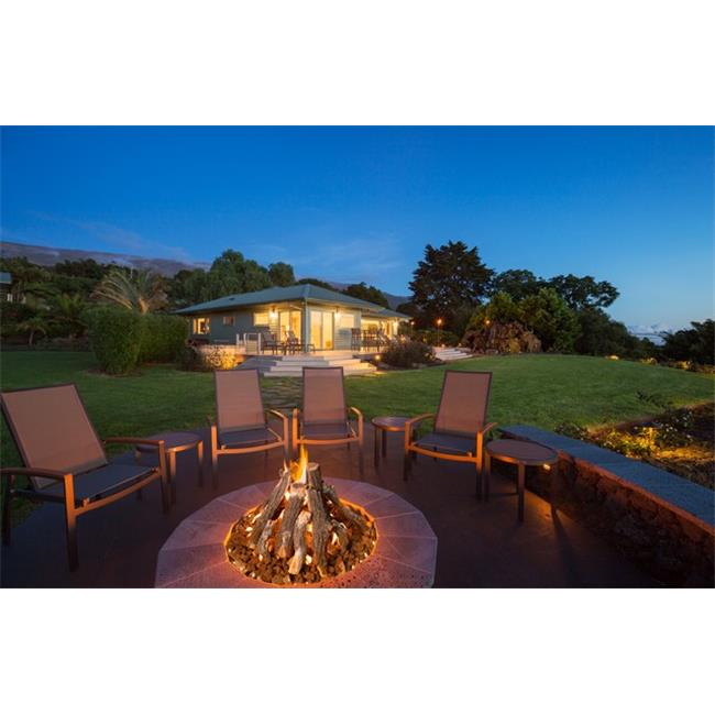 Grand Canyon Gas Logs FPAWO-18-24 Round Fire Pit Logs Set Only, 18-24 in. - 9 Piece