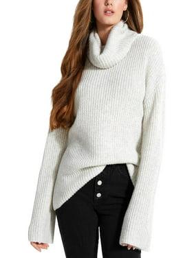 GUESS Womens Ls Rn Isa Sweater Jumper
