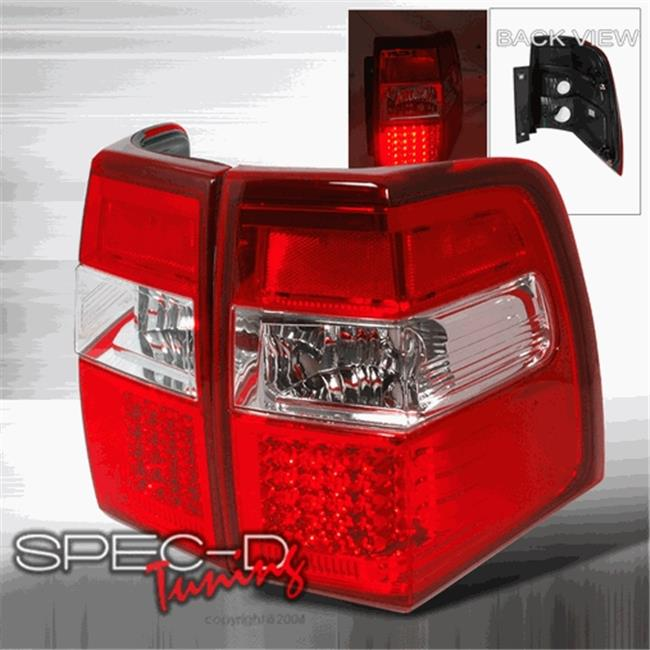 LED Tail Lights for 07 to 09 Ford Expedition, Red - 29 x 14 x 10 in. - image 1 of 1