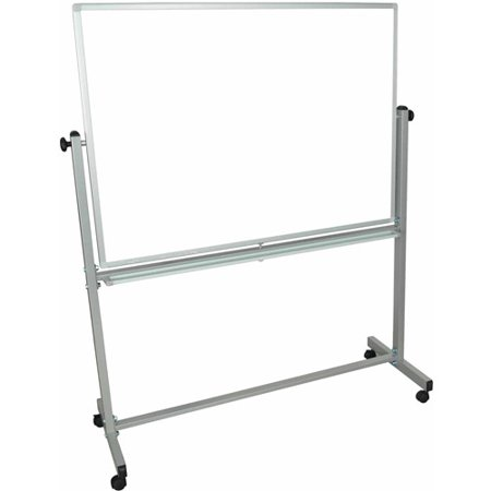 Luxor Magnetic Rolling Whiteboard, 48
