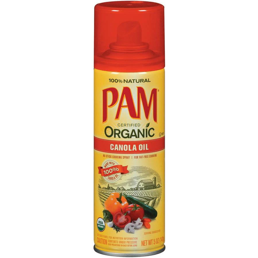 Pam Organic Canola Oil Cooking Spray, 5 oz