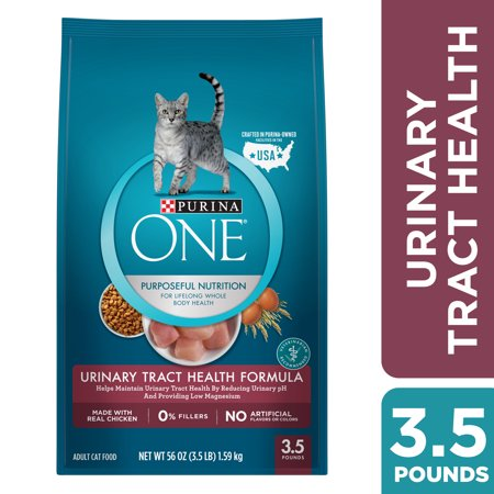 UPC 017800549172 product image for Purina ONE Urinary Tract Health Formula Cat Food, 3.5 lb | upcitemdb.com