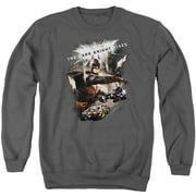 Dark Knight Rises Imagine The Fire Mens Crewneck Sweatshirt