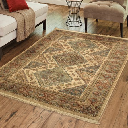 Better Homes and Gardens Fringed Diamonds Area Rug or