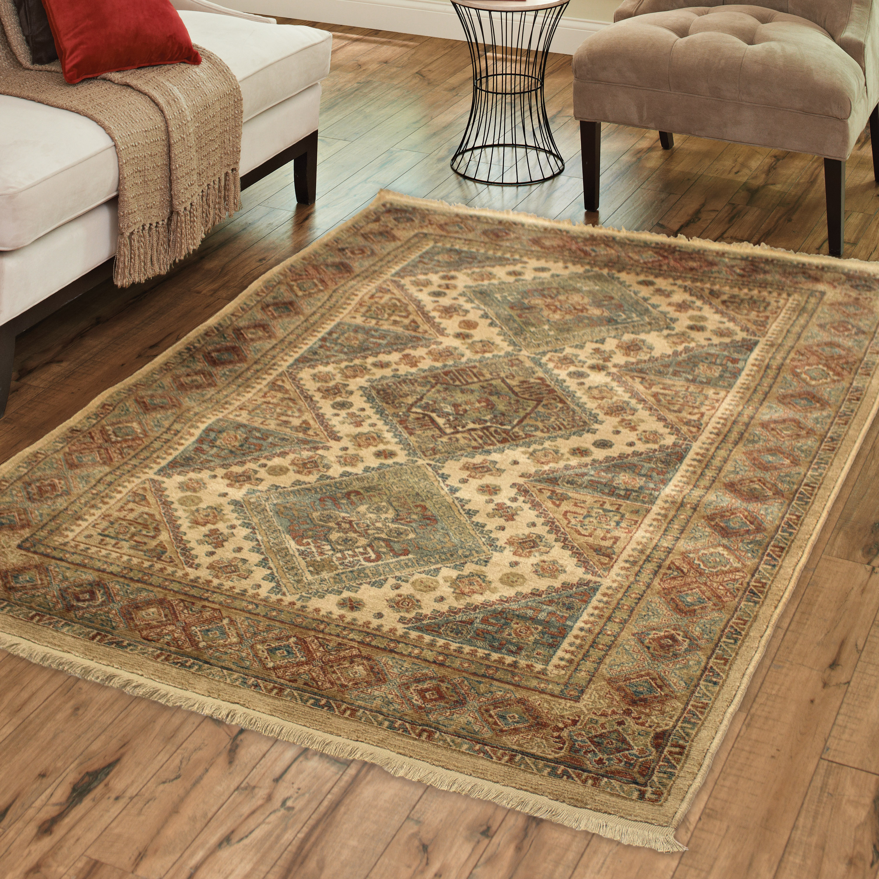 Better Homes and Gardens Fringed Diamonds Area Rug or Runner