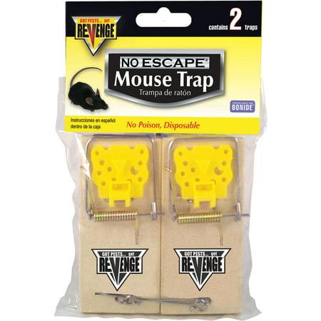 Bonide Products Mouse - Bonide Products-revenge-Revenge Mouse Snap Traps 2 Pack