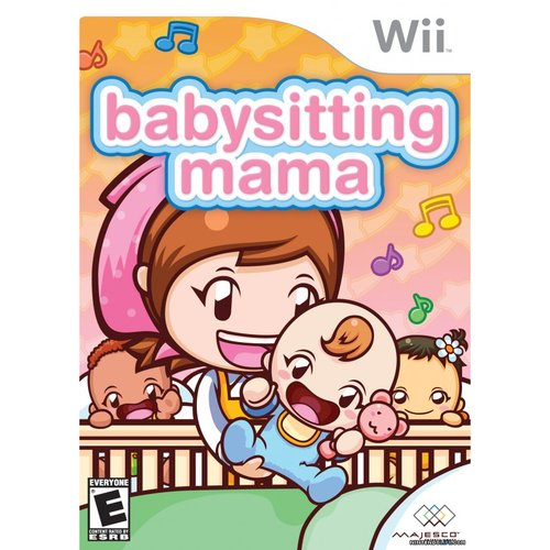Babysitting Mama Game Only (Wii)