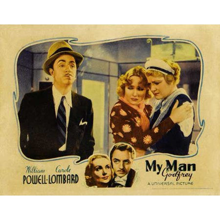 My Man Godfrey POSTER Movie E Mini Promo - Eugene Halloween