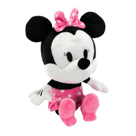 Pink And White Minnie Mouse (Disney Baby Minnie Mouse Plush Stuffed Animal Toy by Lambs &)