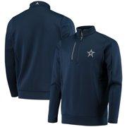 Dallas Cowboys Antigua Generation Quarter-Zip Pullover Jacket - Navy