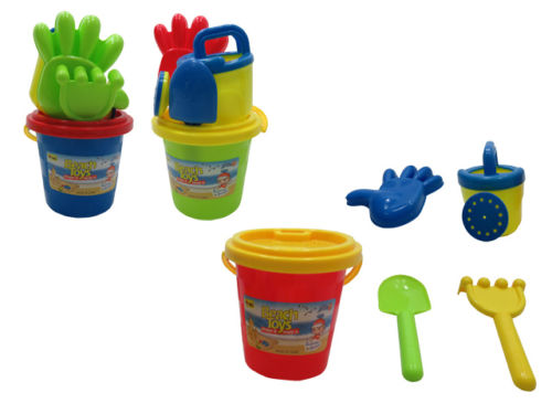 Sand Toys Kids Toddlers Beach Toys Castle Bucket Spade Shovel Rake Water Tools by