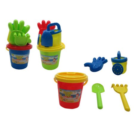 Just Think Toys Water (Sand Toys Kids Toddlers Beach Toys Castle Bucket Spade Shovel Rake Water)